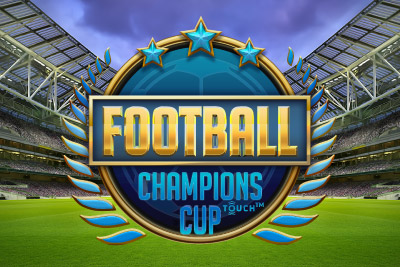 Football Champions Cup Mobile Slot Logo