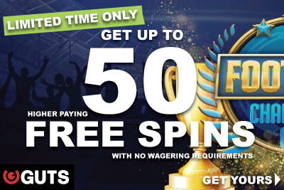 Get Your Higher Paying NetEnt Free Spins At Guts