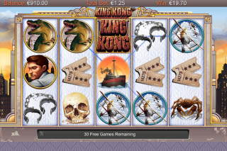King Kong Mobile Slot Free Spin Games