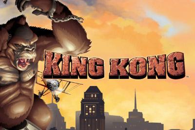 King Kong Mobile Slot Logo