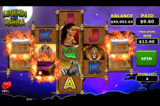 Legends Of Africa Mobile Slot Free Spins