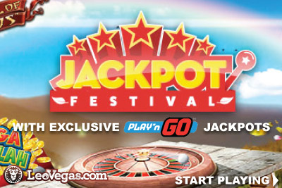 Play On Exclusive Play'n GO Jackpot Slots At LeoVegas