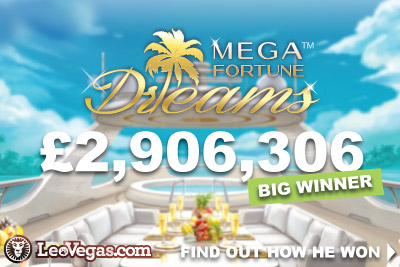Mega Fortune Dreams Jackpot Slot Big Winner
