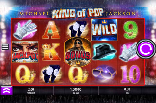 Michael Jackson Mobile Slot Reels