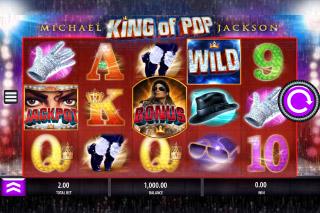 Michael Jackson Mobile Slot Reels