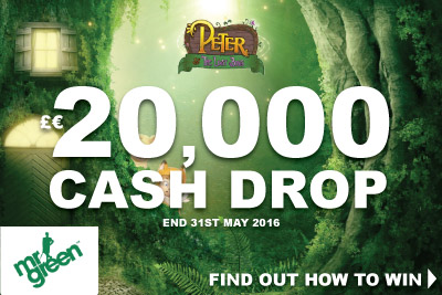 Win Your Share Of 20K Mr Green Casino Cash Drop