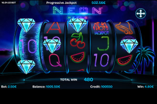 Wild Neon Slot Machine Review & Free Instant Play Game