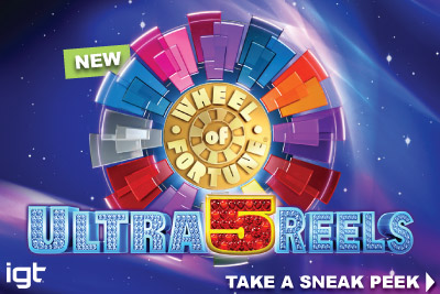 New IGT Wheel of Fortune Ultra 5 Reels Mobile Slot Coming In May