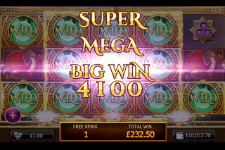 Nirvana Mobile Slot Super Mega Big Win