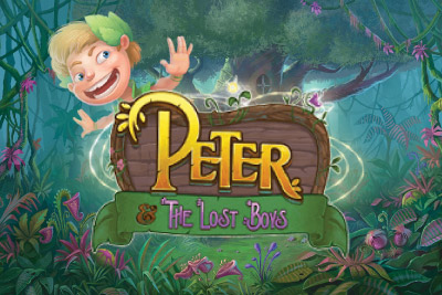 Peter & The Lost Boys Mobile Slot Logo
