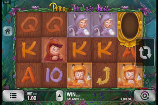 Peter & The Lost Boys Mobile Slot Reels