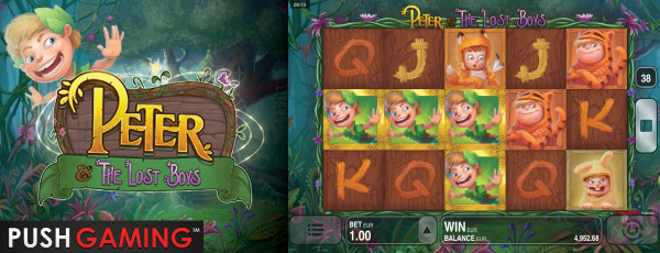 Push Gaming Peter & The Lost Boys Mobile Slot