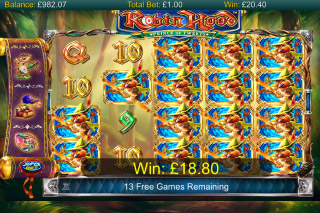 Robin Hood Prince Of Tweets Mobile Slot Free Spins