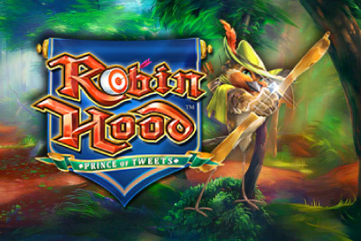 Robin Hood Prince Of Tweets Mobile Slot Logo