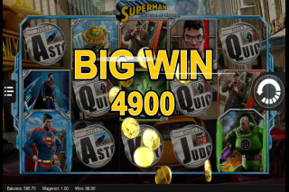 Superman Last Son of Krypton Mobile Slot Big Win