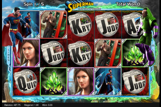 Superman Last Son of Krypton Mobile Slot Bonus Spins