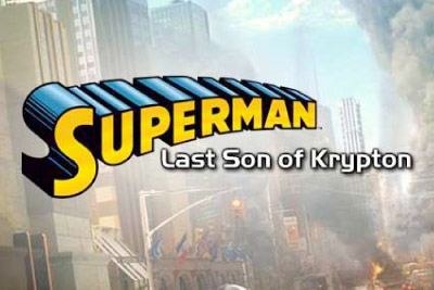 Superman Last Son of Krypton Mobile Slot Logo