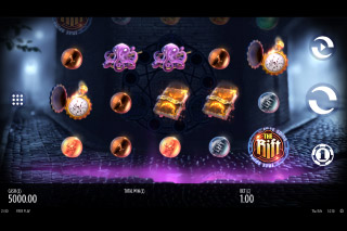 The Rift Mobile Slot Reels