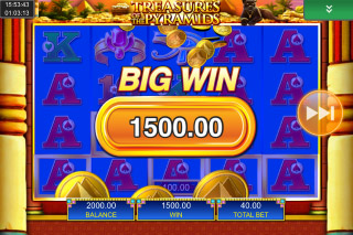 Treasures Of The Pyramids Mobile Slot Big Win