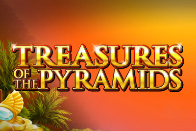 Treasures Of The Pyramids Mobile Slot Logo