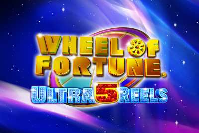 Wheel of Fortune Ultra 5 Reels Mobile Slot Logo