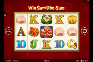 Win Sum Dim Sum Mobile Slot Reels