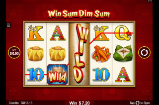 Win Sum Dim Sum Mobile Slot Wild Reel