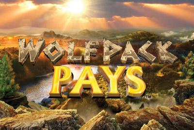 Wolfpack Pays Mobile Slot Logo