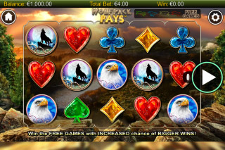 Wolfpack Pays Mobile Slot Reels