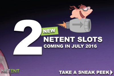 Enjoy 2 New Mobile Slots In July 2016 From NetEnt