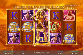Age of the Gods Mobile Slot Free Spins
