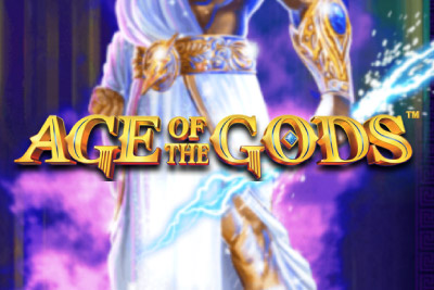 Age of the Gods Mobile Slot Logo