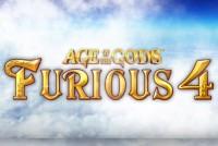 Age of the Gods Furious 4 Mobile Slot Logo