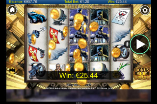 Batman Mobile Slot Free Spins