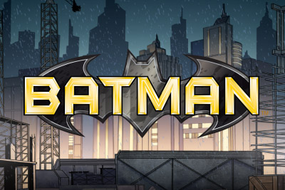 Batman Mobile Slot Logo