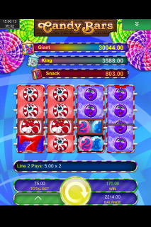 Candy Bars Mobile Slot Jackpots