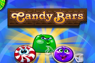 Candy Bars Mobile Slot Logo