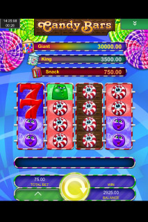 Candy Bars Mobile Slot Reels