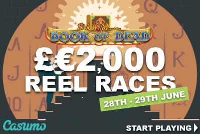 Win £€2000 In Two Casumo Reel Races Main Events