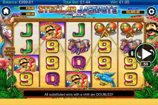 Chilli Gold 2 Mobile Slot Reels