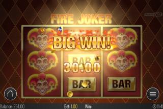 Fire Joker Mobile Slot Big Win