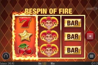 Fire Joker Mobile Slot Reels