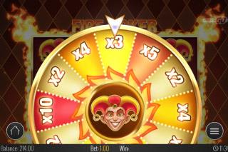 Fire Joker Mobile Slot Wheel of Multipliers