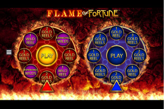 Flame of Fortune Mobile Slot Bonus Wheels