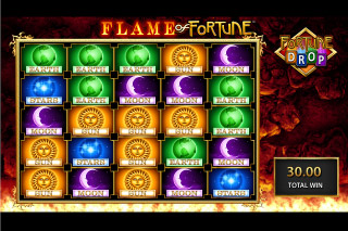 Flame of Fortune Mobile Slot Fortune Drop