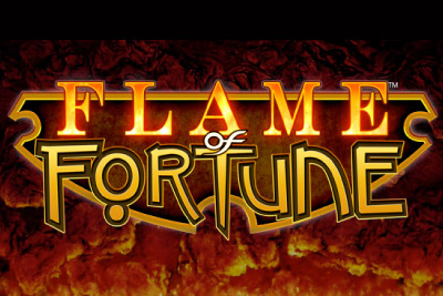 Flame of Fortune Mobile Slot Logo