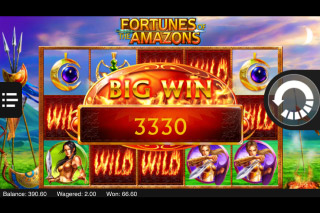 Fortunes of the Amazons Mobile Slot Big Win
