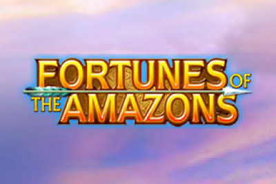 Fortunes of the Amazons Mobile Slot Logo