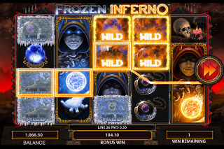 Frozen Inferno Mobile Slot Big Win