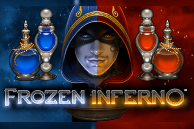 Frozen Inferno Mobile Slot Logo